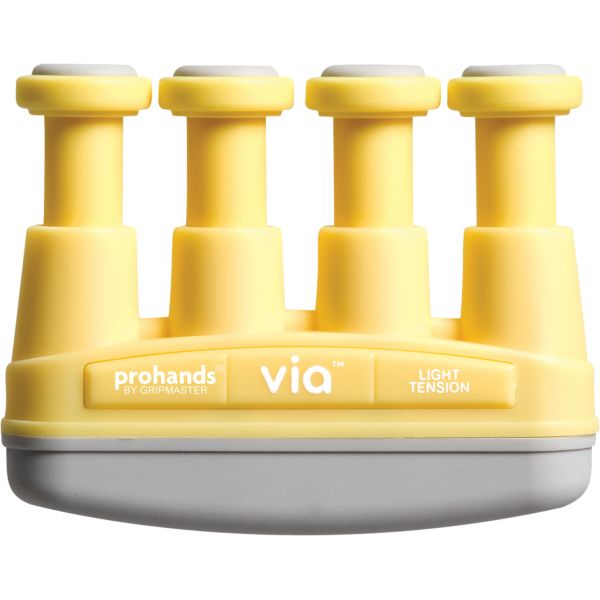 PROHANDS SERIES -VIA Amarillo-Ejercitador de dedos y mano , resistencia Suave