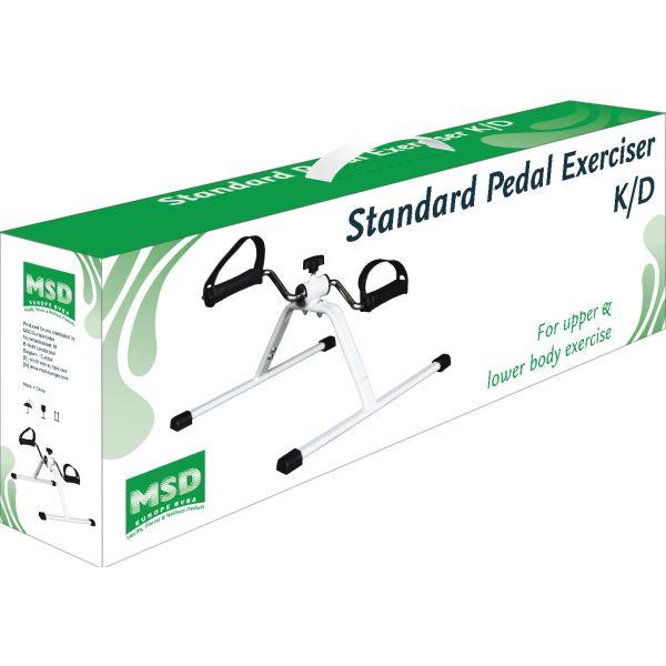 MoVeS - PEDALIER Standard K/D pintado en blanco -desmontado . Control manual de la resistencia. Medidas 51x41x28cm -Peso 2,2 Kg.