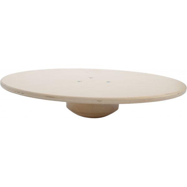 MAMBO MAX - SPORT -PLATAFORMA d'equilibri de fusta Ø 40cm ? 9 cm, máx.inclinac. 20è, pes màx. 150Kg