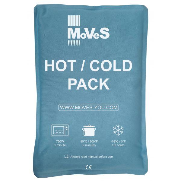 MoVeS - HOT / COLD -Compresas SOFT TOUCH de frio / calor  25x35 cm caja 10 unidades