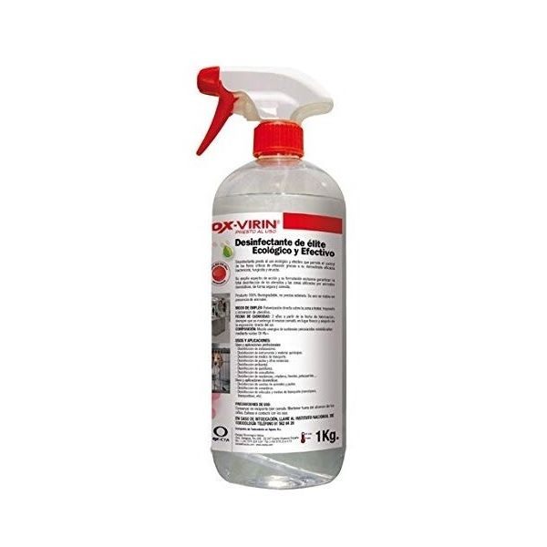 DESINFECTANTE OX-VIRIN PRESTO AL USO 1 litro