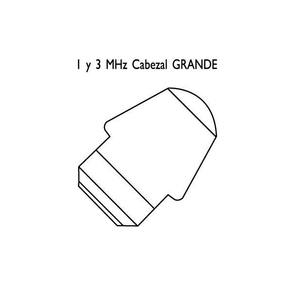 Cabezales reacondicionados para ultrasonidos Megasonic 212P/212K/226  6cm²